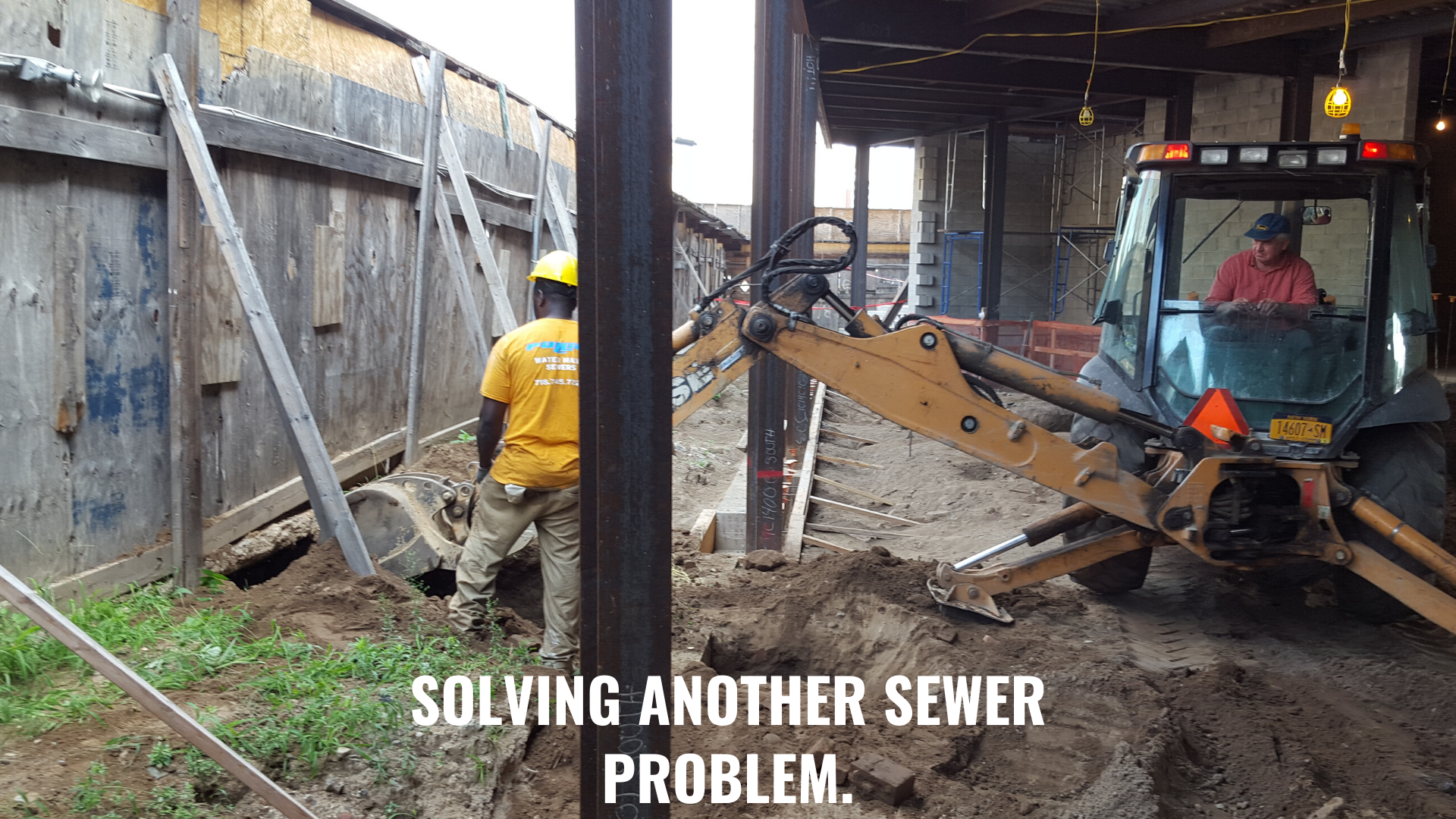 water main sewer contractors