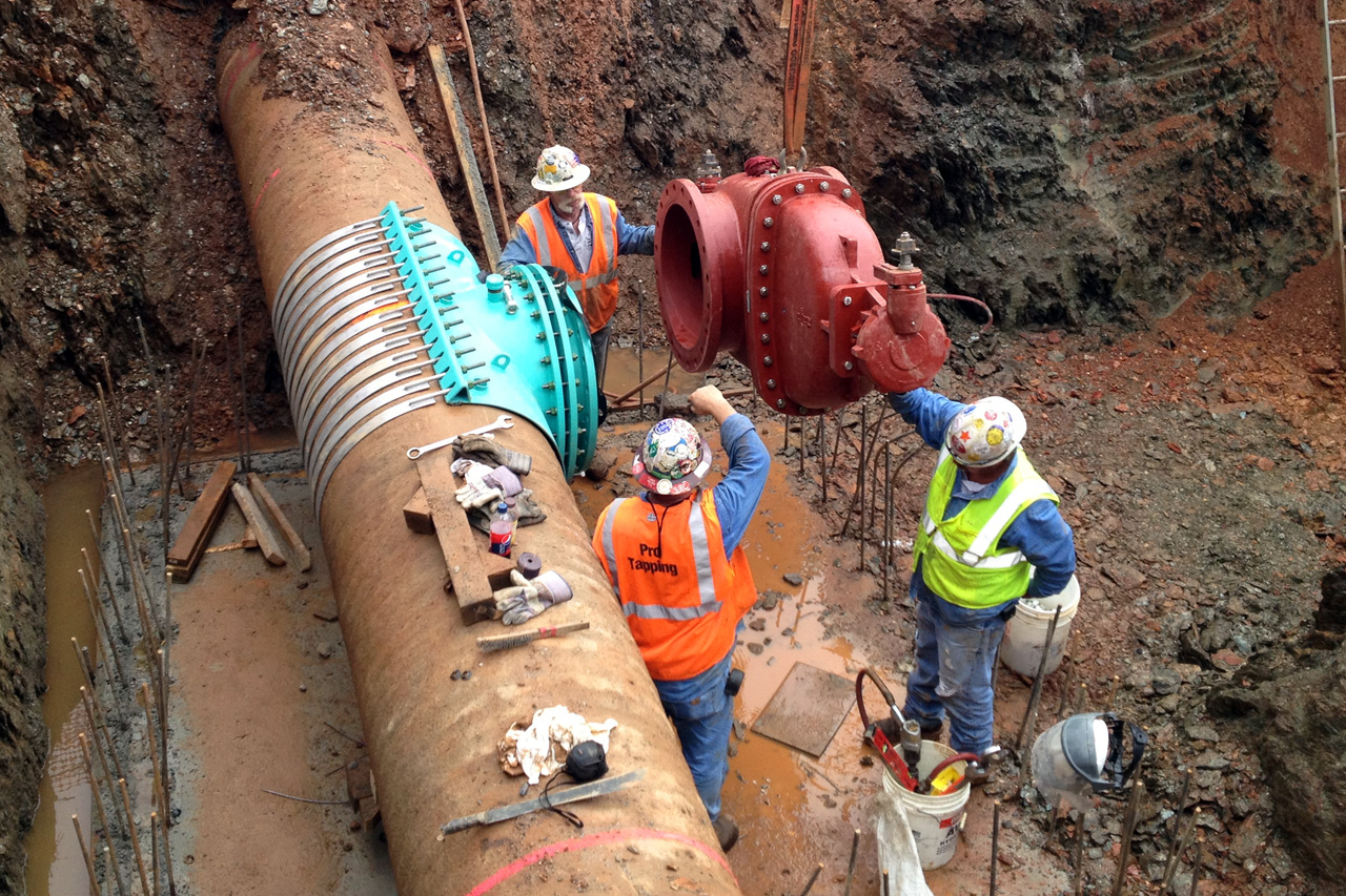 subsurface water mains